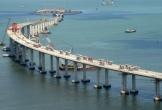 Ngắm siêu cầu vượt biển dài nhất thế giới của Trung Quốc từ trên cao