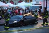 Lamborghini Huracan Performante bốc cháy giữa đường tại Mỹ