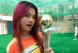 Dân mạng phát sốt vì nữ CĐV xinh đẹp của Myanmar