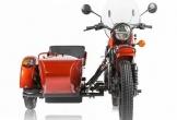 Cận cảnh xe môtô 3 bánh sidecar Ural cT chạy điện đầu tiên