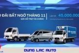 Xe tải Hyundai Dũng Lạc khuyến mãi khủng tháng 11