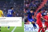"""CĐV Indonesia """"nổi trận lôi đình"""" sau khi thua thảm trước Thái Lan"""