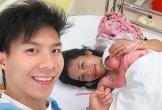 Hoàng tử xiếc Quốc Nghiệp hạnh phúc đón con gái chào đời