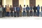 Thanh Hóa: Phá xới bạc trên sông, bắt giữ 16 đối tượng