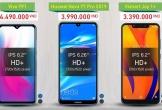 Ba smartphone mới tầm giá 4 triệu đồng đọ sức