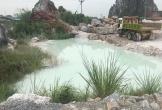 Báo động ô nhiễm môi trường ở núi Vức