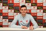 """Liverpool giữ chân thành công """"món hời"""" Andrew Robertson"""