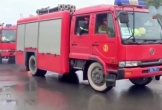 Bộ Công an tiếp nhận dàn xe chữa cháy 'khủng' hơn 500 tỷ đồng