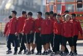 Tuyển Việt Nam tập luyện vui vẻ sau trận thắng Jordan