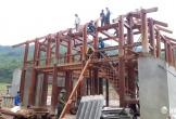 Khu tái định cư bản Sa Ná: Đại công trường xây dựng giữa đại ngàn