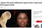 """Sự thật """"sốc"""" vụ nữ dọn phòng trộm tinh trùng của tỷ phú, kiếm 2 triệu USD"""