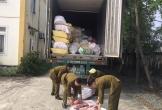 Bắt giữ xe container chở gần 12 tấn nội tạng bốc mùi