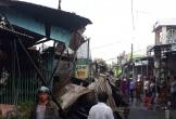 Hỏa hoạn thiêu rụi 12 căn nhà, bé gái 14 tuổi tử vong thương tâm