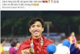 Mạng xã hội 'nhuộm đỏ' màu cờ sắc áo ăn mừng tấm huy chương vàng lịch sử
