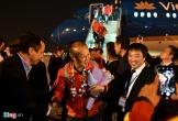 Những hình ảnh đầu tiên về các cầu thủ U22 Việt Nam tại sân bay Nội Bài