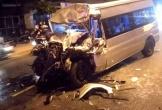 Va chạm kinh hoàng với xe đầu kéo, tài xế ô tô 16 chỗ tử vong thương tâm