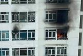 Chập điện gây cháy lớn ở chung cư Hoàng Anh Goldhouse, cư dân tháo chạy