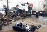 Camera ghi lại vụ xe container đâm liên hoàn ở Thanh Hóa