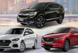 10 ôtô bán chậm nhất Việt Nam đầu 2019