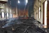Cháy lớn tại nhà thờ Thọ Vực