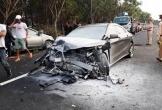 Hai ô tô đối đầu trên cao tốc Liên Khương - Đà Lạt khiến 4 người thương vong