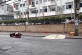 Khoảnh khắc người phụ nữ tự ngã tử vong trên phố Hà Nội