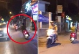 Người phụ nữ đi xe Lead lạng lánh đánh võng gây chú ý cộng động mạng