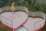 Cây cầu trái tim giữa rừng thông Đà Lạt nơi Ngọc Trinh vừa check in