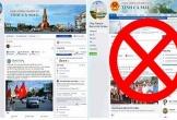 Xuất hiện fanpage giả mạo tên Cổng Thông tin điện tử tỉnh Cà Mau