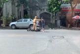 Thanh niên không đội mũ bảo hiểm cố bỏ chạy khi CSGT ra hiệu lệnh dừng xe