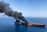 Anh hùa theo Mỹ quy kết Iran đứng sau vụ cháy tàu vịnh Oman