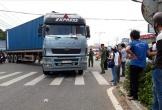 Nữ tạp vụ tử vong thương  tâm dưới bánh xe container sau tai nạn