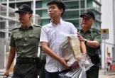 """Thủ lĩnh phong trào """"Ô dù"""" ở Hong Kong ra tù"""