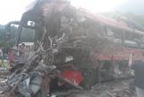 Lại 1 xe khách Điện Biên nát đầu vì tai nạn tại Hòa Bình