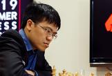 Quang Liêm thắng ván đầu ở giải cờ Mùa Hạ