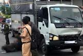 Xe tải tông chết trâu đực nặng hơn 400 kg trên Quốc lộ 20