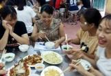 Nhiều thí sinh được ăn, ở miễn phí tại trường nội trú để thi THPT quốc gia