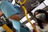 Tiếp tục bắt tại trận một kẻ biến thái trên xe buýt ở Hà Nội