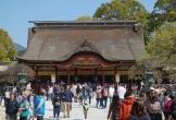 Ngôi đền cổ đón hàng triệu khách mỗi năm ở Nhật Bản