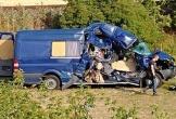 Séc: Tàu hỏa đâm xe van, 1 người chết, 7 người bị thương