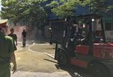 Cháy kho nguyên liệu, hàng trăm công nhân tháo chạy