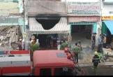 Quán cơm ở Sài Gòn bốc cháy sau tiếng nổ lớn