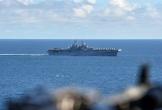 Mỹ bắn hạ máy bay không người lái của Iran tại eo biển Hormuz