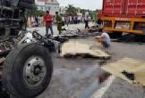 6 người bị xe tải lật đè tử vong trên QL5