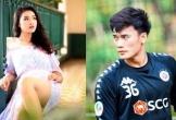 Hot girl xứ Thanh viết thư tình cho Bùi Tiến Dũng: 'Em lỡ yêu anh rồi, đừng gục ngã'