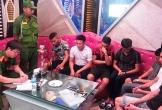 Bắt quả tang 7 thanh niên mở tiệc ma túy trong quán karaoke ở Hà Tĩnh