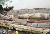 Phát hiện quả bom dưới chân cầu vượt sông Tam Bạc ở Hải Phòng