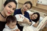 Đàm Thu Trang bị giục sinh con cho Cường Đô La khi khoe ảnh dành cả thanh xuân đi thăm đẻ bạn thân