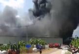 Cháy lớn tại công ty sản xuất nhựa ở Đồng Nai
