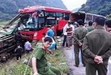 Tạm giữ tài xế xe khách tông xe tải chở luồng ở Hòa Bình khiến 16 người thương vong